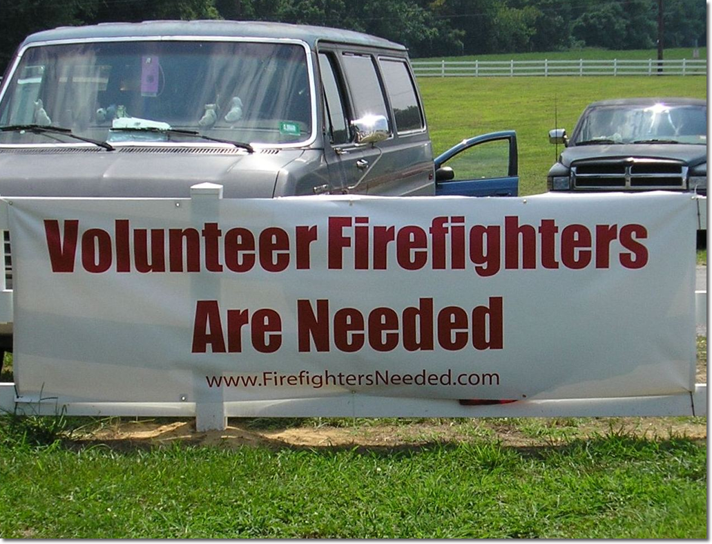 firefighters needed volunteer firefighter recruitment community outreach